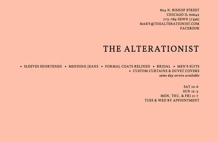 The Alterationist website