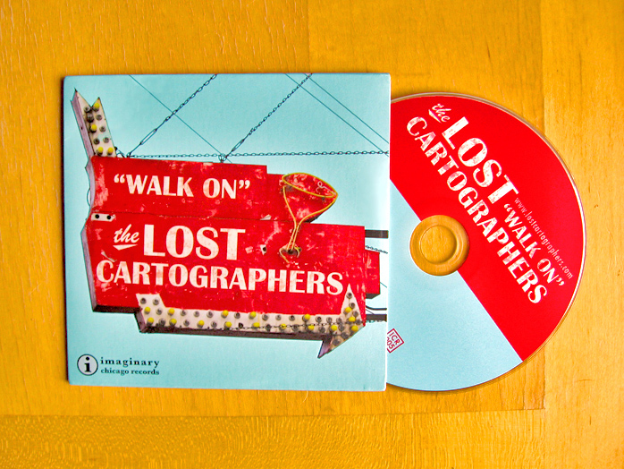 photo of Walk On CD and packaging